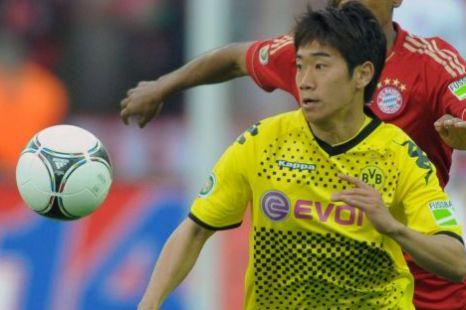 Dortmund's Shinji Kagawa