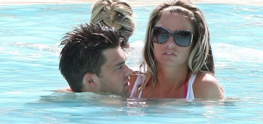 Katie Price and Leandro Penna in Las Vegas