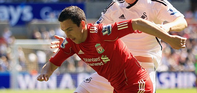 Stewart Downing of Liverpool