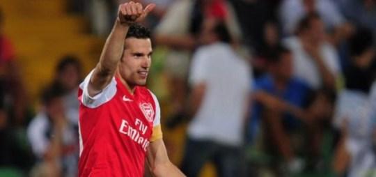 Robin van Persie, Arsenal v Udinese