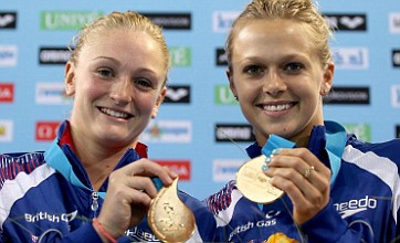 Diving duo Tonia Couch and Sarah Barrow win historic Euro gold medal
