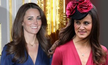 Pippa Middleton copies Kate's engagement dress for pal's wedding