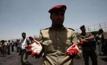 Suicide attack during Yemen military parade kills at least 90 soldiers, officials say