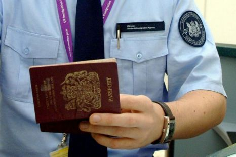 Border Force, UK Border Agency, passport, immigration