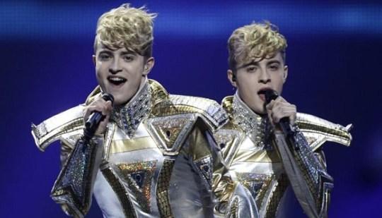 Jedward, Eurovision