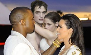 Kim Kardashian and Kanye West v R-Pattz and Kristen Stewart: Face Off