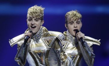 Jedward urge fans to vote for them as they push for Eurovision win in Baku