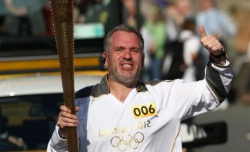 BBC DJ Chris Moyles revealed as secret Olympic torch carrier in Wales