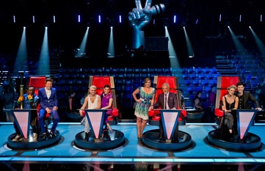 Tyler James, Vince Kidd, Leanne Mitchell and Bo Bruce, The Voice UK