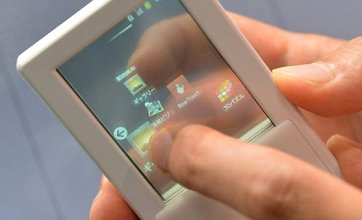 Double-sided transparent smartphone offers glimpse of the future