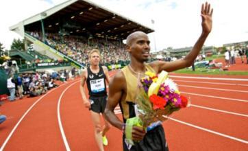 Mo Farah talks up London Olympics 10k and 5k double after Oregon win