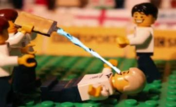 European Championships' greatest moments recreated in lego