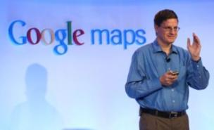 Brian McClendon unveiled the new Google Maps features in San Francisco (Getty)