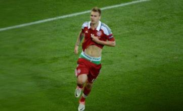 Nicklas Bendtner warned by Denmark to cut out pants antics