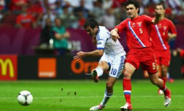 Giorgos Karagounis sends Greece into last eight at Euro 2012