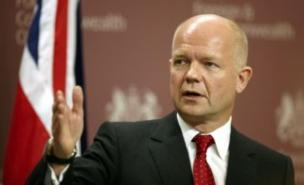 William Hague has reaffirmed the UK's stance that president Bashar al-Assad should be removed from power (PA)