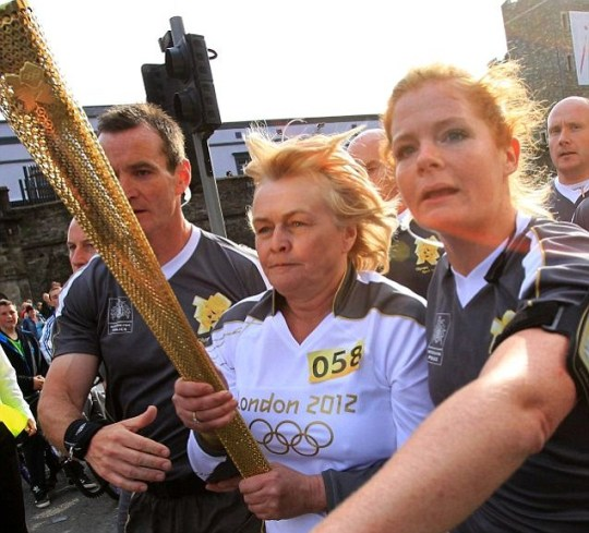 London 2012 Olympics torch relay Northern Ireland