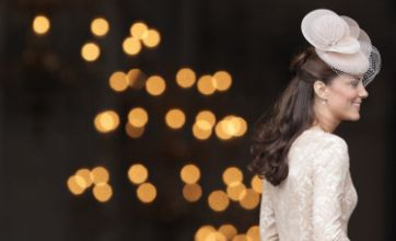 Diamond Jubilee: Kate wears nude Alexander McQueen dress