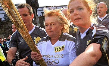 Olympic torch relay forced to divert after protests in Northern Ireland