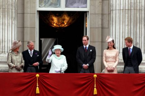 Queen, Diamond Jubilee, balcony, Buckingham Palace