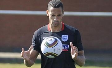 Dutch stars baffled by Rio Ferdinand's Euro 2012 exclusion