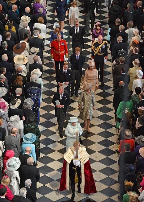 St Paul's, The Queen, Diamond Jubilee