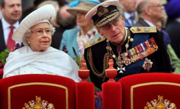 Queen visits Prince Philip in hospital as his condition improves