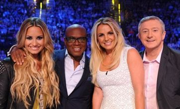 Britney Spears 'missing Simon Cowell' as Louis Walsh joins The X Factor USA