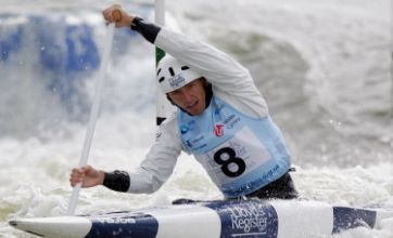 David Florence makes history with second gold at Canoe World Cup
