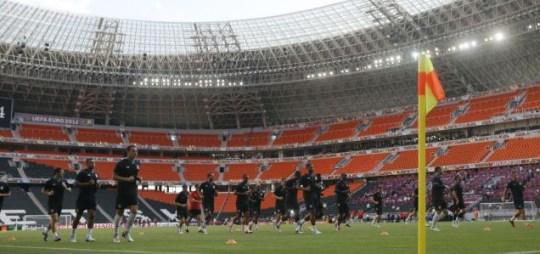 England training Euro 2012