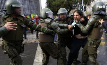 Chile activists clash over film showing Augusto Pinochet as 'hero leader'