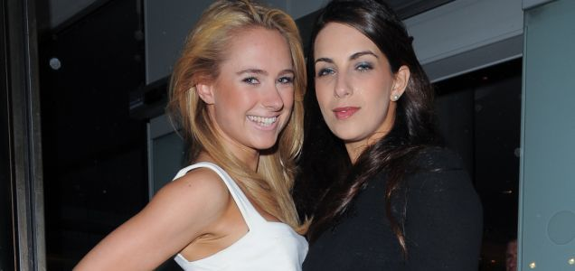 Kimberley Garner and Harriet Loder, Made In Chelsea wrap party