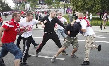 Hooligans mar Euros as Poland v Russia match sparks riot