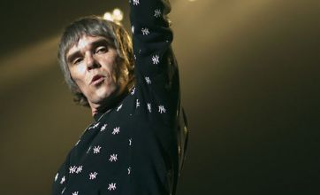 Stones Roses' Ian Brown in C-word rant at Reni after he walks out of gig