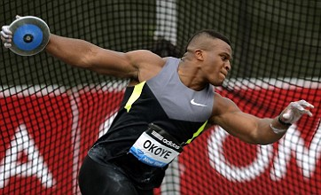 Discus thrower Lawrence Okoye sets up four-way Olympic selection battle