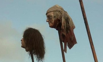 HBO sorry for Game of Thrones' George W Bush head on spike scene