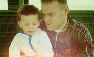 Coleen Rooney's tribute to Wayne: Thanks for being a fantastic dad