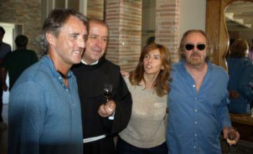 Man City's Roberto Mancini returns to 'miracle' site in Bosnia