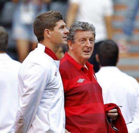 Steven Gerrard Roy Hodgson
