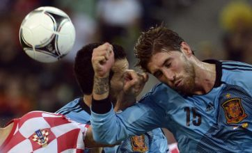 Euro 2012: Nervy Spanish survive tense night with 1-0 win over Croatia