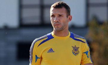 Theo Walcott fit for Ukraine v England but Andriy Shevchenko an injury doubt
