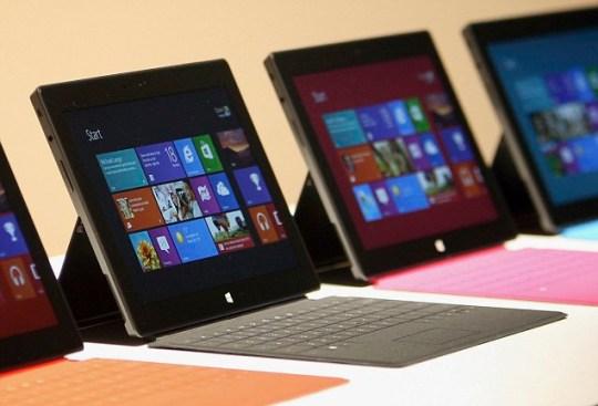 Surface Microsoft Windows 8 tablet
