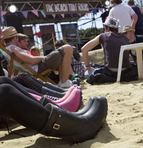 Isle of Wight Festival 2012, Life's a Beach