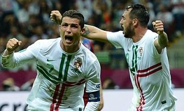 Cristiano Ronaldo heads Portugal past Czechs and into Euro 2012 semi-finals
