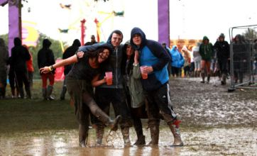 Isle of Wight festival 2012 blighted by flooding as Red Cross called to scene