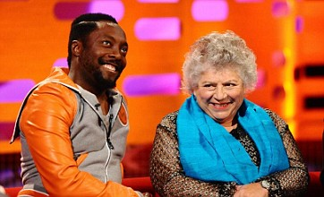 Will.i.am left speechless by Miriam Margolyes on Graham Norton Show