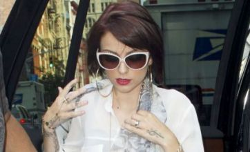 Cher Lloyd mobbed by fans following visit to Philadelphia radio station WIOQ