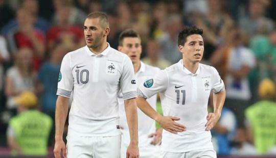 Samir Nasri, Euro 2012