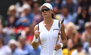 Samantha Stosur through after routine Wimbledon win over Suarez Navarro