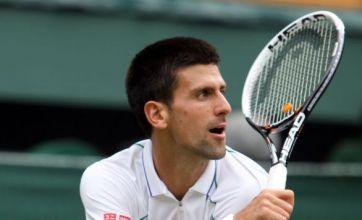 Novak Djokovic and Roger Federer get title bids up and running at Wimbledon
